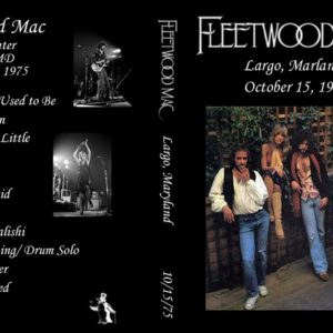 Fleetwood Mac 1975-10-15 Largo, MD DVD