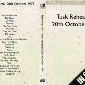 Fleetwood Mac 1979-10-20 Tusk Rehearsals DVD
