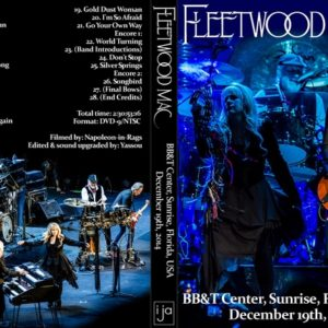 Fleetwood Mac 2014-12-19 BB&T Center, Sunrise FL DVD