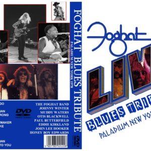Foghat 1978 Blues Tribute, New York, NY DVD