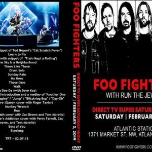 Foo Fighters 2019-02-02 Super Saturday Night, Atlanta, GA DVD