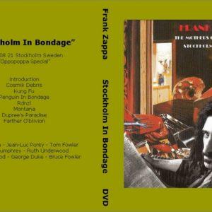 Frank Zappa 1973-08-21 Bondage In Stockholm, Sweden DVD