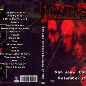 Garbage 1998-09-25 San Jose, CA DVD