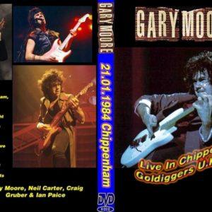 Gary Moore 1984-01-21 Golddiggers, UK DVD
