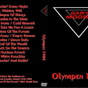 Gary Moore 1984-03-15 Lund, Sweden DVD
