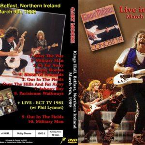 Gary Moore 1989-03-09 Belfast, UK DVD