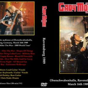 Gary Moore 1989-03-16 Ravensburg, Germany DVD