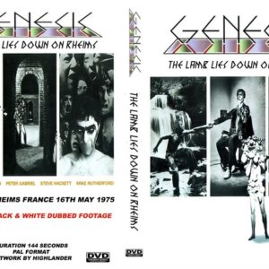 Genesis 1975-05-16 Rheims, France DVD