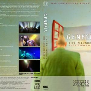 Genesis 1980-05-06-07 The Lyceum Tapes, London,UK DVD
