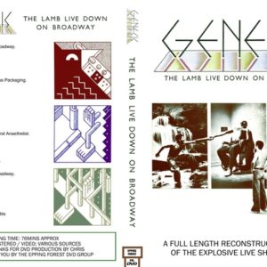 Genesis The Lamb Live Down On Broadway DVD