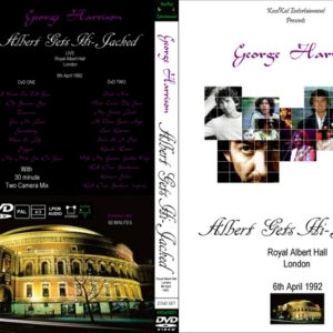 George Harrison 1992-04-06 Albert Gets Hi-Jacked, Royal Albert Hall, London, UK 2 DVD