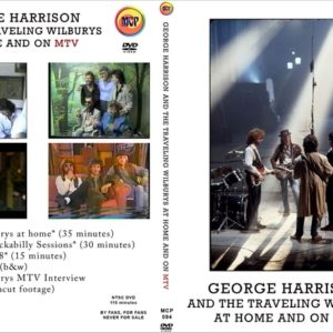 George Harrison and The Travelling Wilburys At Home And On MTV DVD