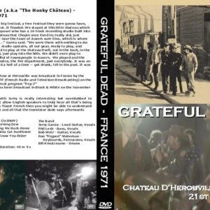 Grateful Dead 1971-06-21 Hrouville, France DVD