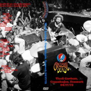 Grateful Dead 1972-04-17 Tivoli Gardens, Copenhagen, Denmark 3 DVD