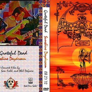 Grateful Dead 1972-08-27 Sunshine Daydream DVD