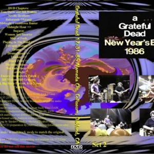 Greatful Dead 1985-12-31 Oakland, CA DVD