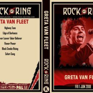 Greta Van Fleet 2018-06-01 Rock am Ring, Germany DVD