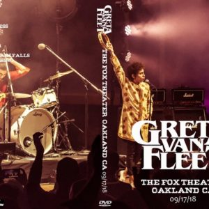 Greta Van Fleet 2018-09-17 The Fox Theater, Oakland, CA DVD