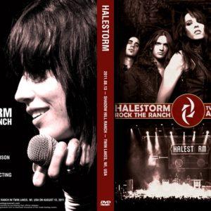 Halestorm 2011-08-13 Twin Lakes, WI DVD