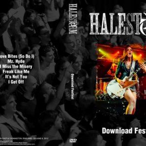 Halestorm 2012-06-09 Castle Donington, England DVD