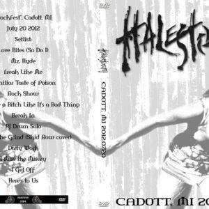 Halestorm 2012-07-20 Cadott, MI DVD