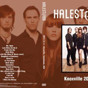 Halestorm 2012-12-11 Knoxville, TN DVD