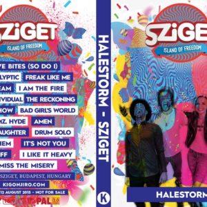 Halestorm 2015-08-12 Budapest, Hungary DVD