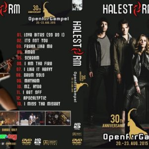 Halestorm 2015-08-20 Gampel, Switzerland DVD