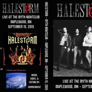 Halestorm 2015-09-15 Maplewood, MN DVD