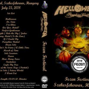 Helloween 2018-07-25 Szekesfehervar Hungary Fezen Festival DVD