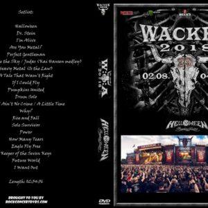 Helloween Pumpkins United 2018-08-04 Wacken, Germany DVD