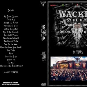 In Flames 2018-08-03 Wacken, Germany DVD