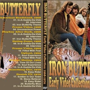 Iron Butterfly 1968-1970 Early Video Collection DVD