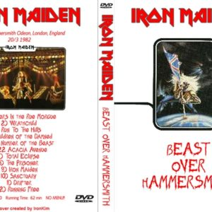 Iron Maiden 1982-03-20 Beast Over Hammersmith, UK DVD