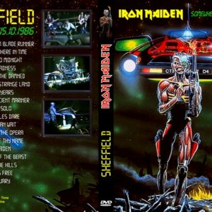 Iron Maiden 1986-10-15 1st Night Sheffield, England DVD