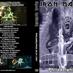 Iron Maiden 1991-01-29 Philly, PA DVD