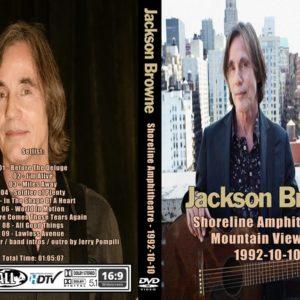 Jackson Browne 1992-10-10 Shoreline Amphitheatre, Mountain View, CA DVD
