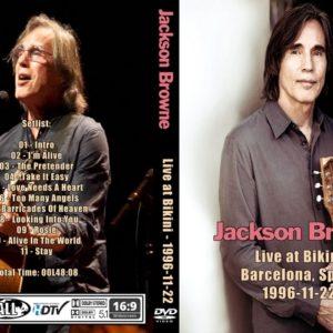 Jackson Browne 1996-11-22 Bikini, Barcelona, Spain DVD