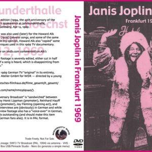 Janis Joplin 1969-04-12 Frankfurt, Germany DVD