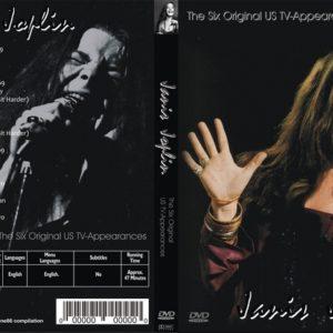 Janis Joplin 1969-1970 The Six Original US TV Appearances DVD
