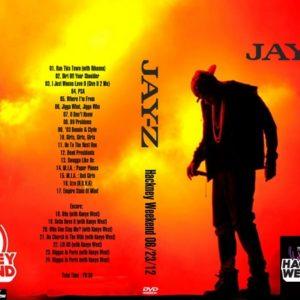 Jay-Z 2012-06-23 Hackney Weekend DVD