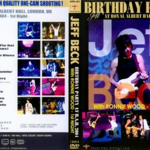 Jeff Beck 2004-06-23 Royal Albert Hall, London, UK DVD