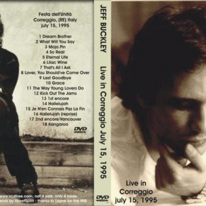 Jeff Buckley 1995-07-15 Correggio, Italy DVD