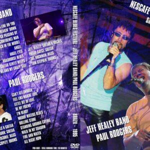 Jeff Healey Paul Rodgers 1995-05-27 Nescafe Blues Festival, Sao Paulo, Brasil DVD