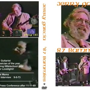 Jerry Garcia 1987 Bammies DVD