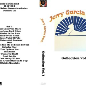Jerry Garcia Band Collection Vol. 1 DVD