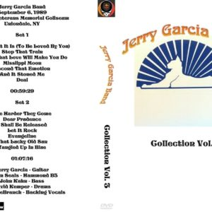 Jerry Garcia Band Collection Vol. 3 DVD