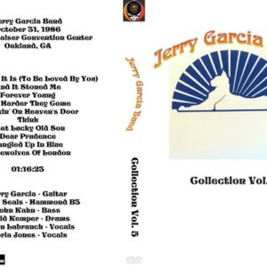 Jerry Garcia Band Collection Vol. 5 DVD
