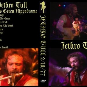 Jethro Tull 1977-02-10 Goldens Green Hippodrome DVD