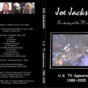 Joe Jackson 1989-2005 US TV Appearances DVD